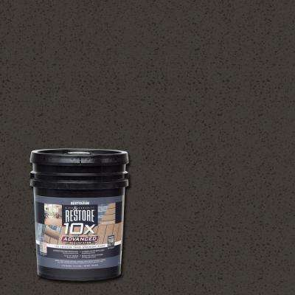 4 gal. 10X Advanced Bark Deck and Concrete Resurfacer