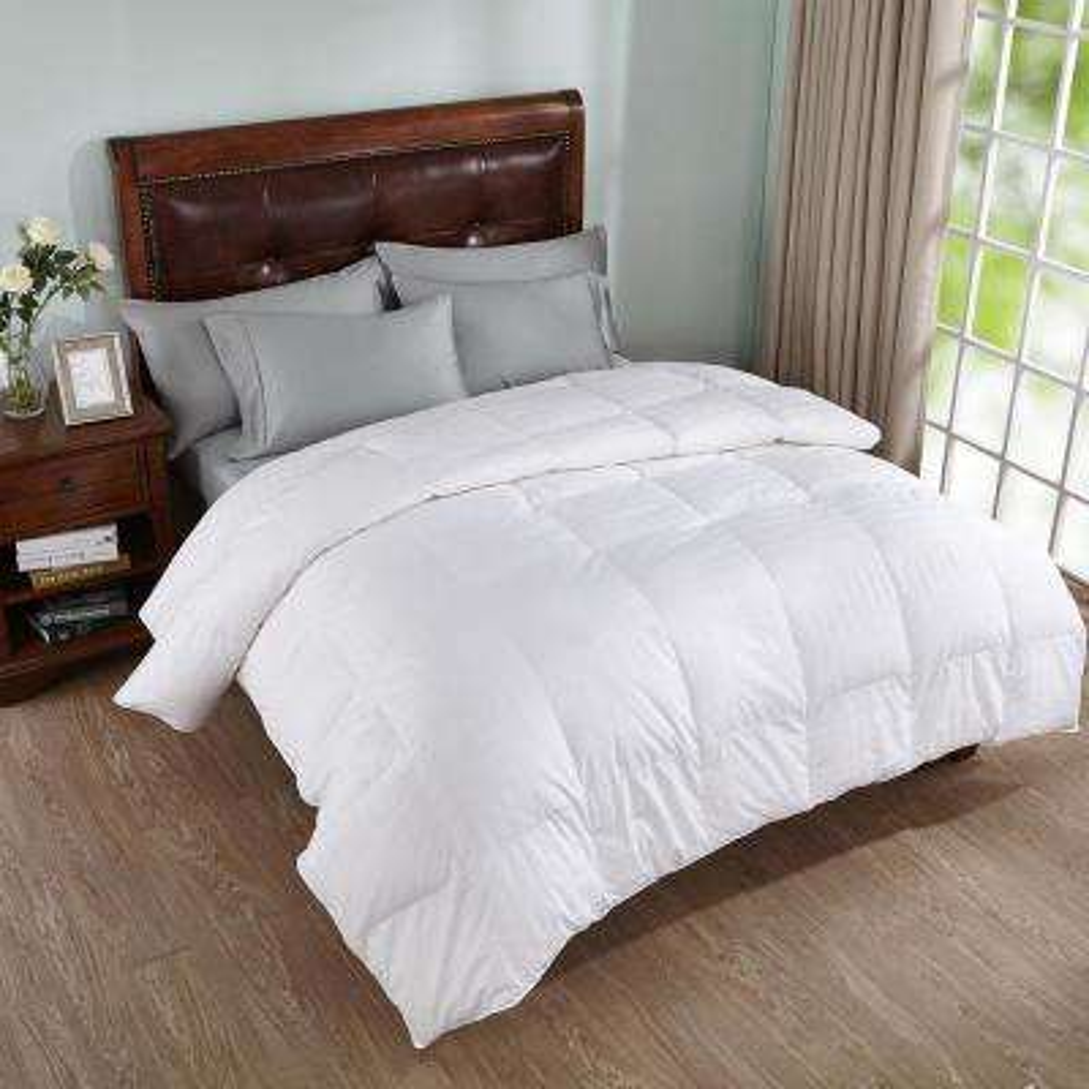 All Season White King Goose Down Comforter