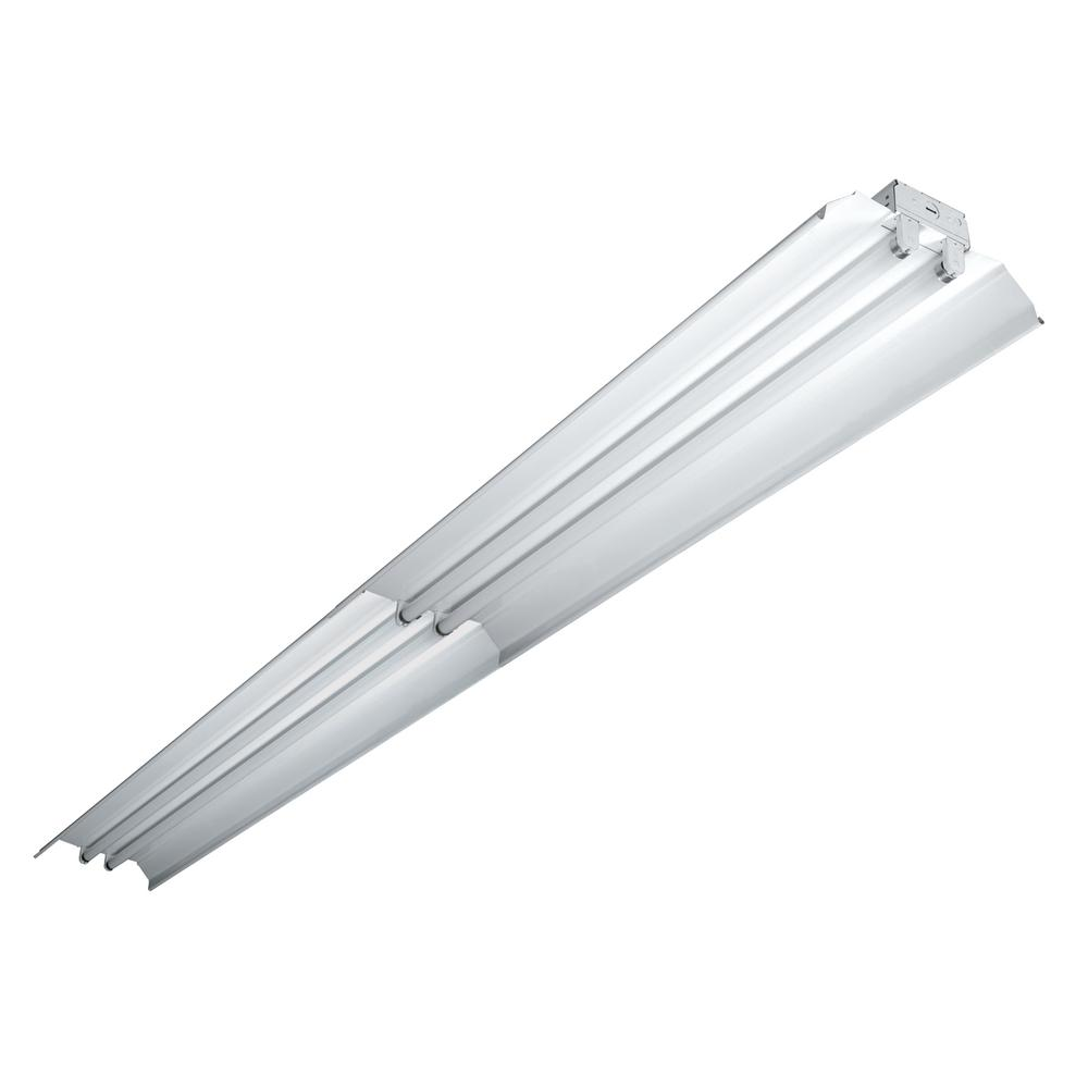 Lithonia Lighting 2-Light White T8 Fluorescent Residential