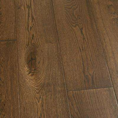 French Oak Stinson 3/8 in. T x 6-1/2 in. W x Varying Length Engineered Click Lock Hardwood Flooring (23.64 sq. ft./case)