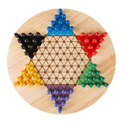 Chinese Checkers Wooden Game Set