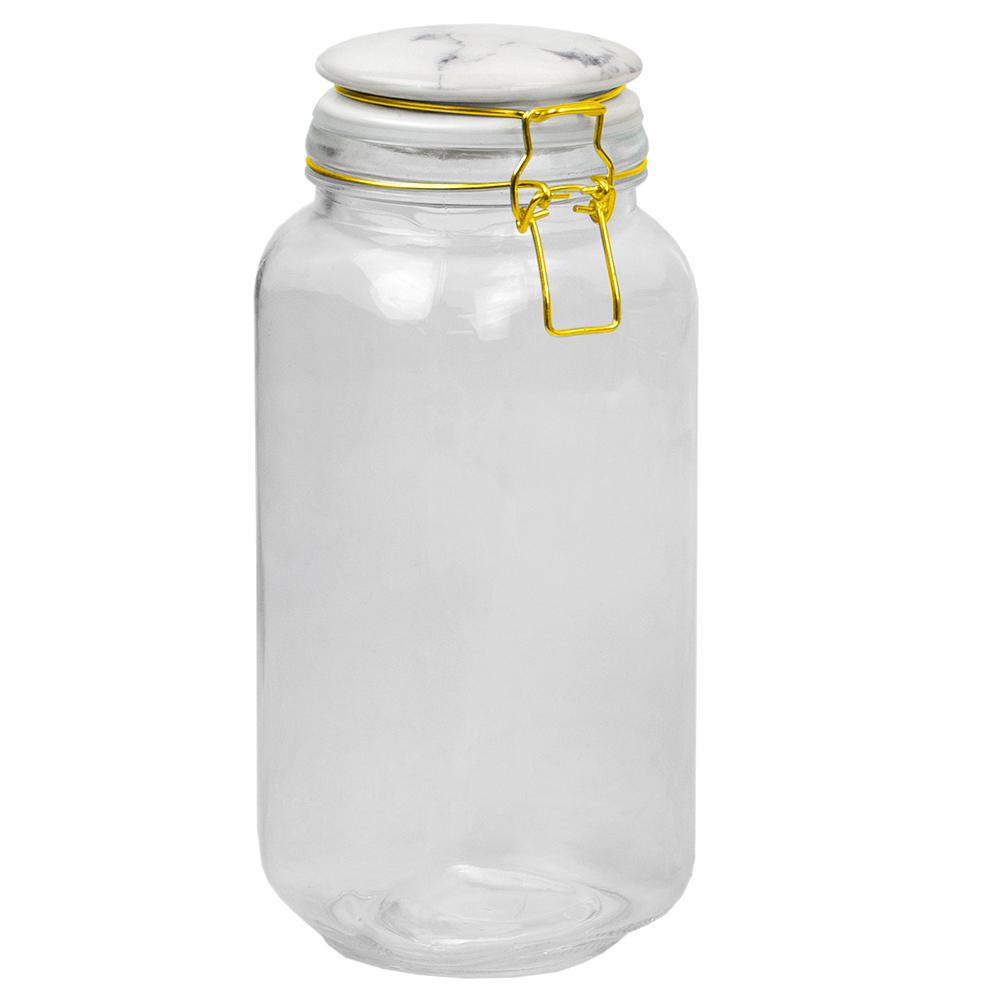 67 oz. Glass Canister with Printed Ceramic Top