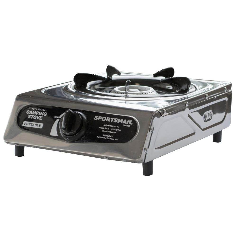 Sportsman Single Burner Camping Stove 801439 The Home Depot