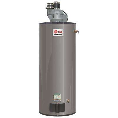 Commercial Medium Duty 50 Gal. 65K BTU Low NOx (LN) Natural Gas Power Direct Vent Tank Water Heater