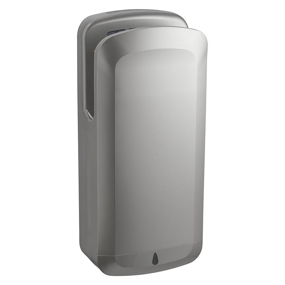 Alpine Industries Oak Gray High Speed Commercial 220-Volt Electric Hand  Dryer