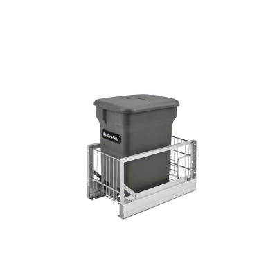 Aluminum Pull-Out Orion Gray Compost Bin
