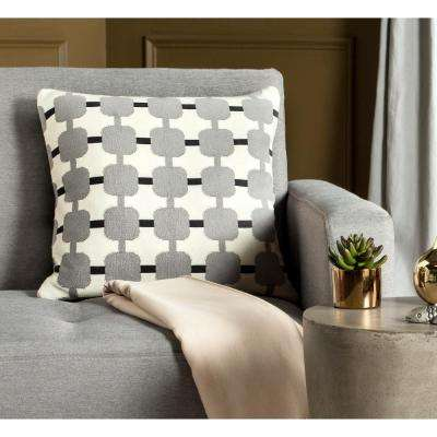 Retro Square Printed Patterns Pillow