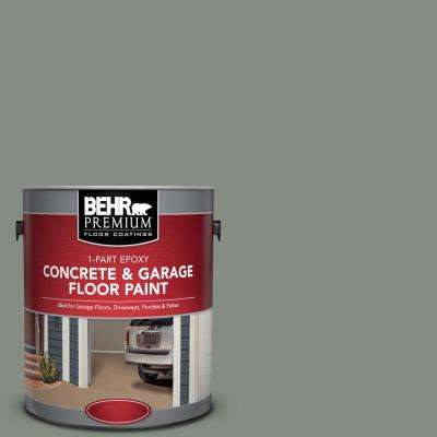1 gal. #PFC-43 Peaceful Glade 1-Part Epoxy Satin Interior/Exterior Concrete and Garage Floor Paint