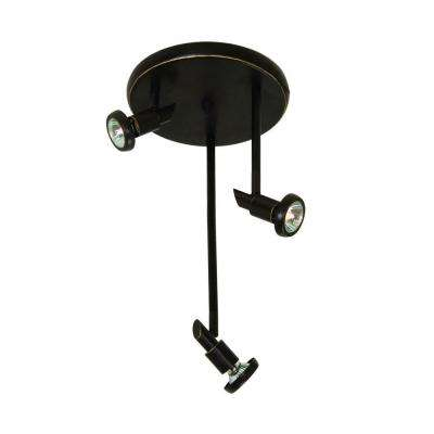 Buchwald 3-Light Oil-Rubbed Bronze Track Lighting Kit