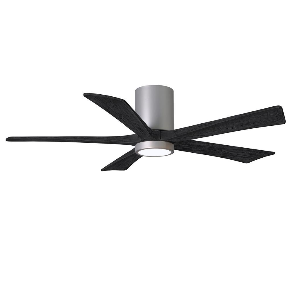 Irene-5HLK 52 in. Integrated LED Brushed Nickel Ceiling Fan