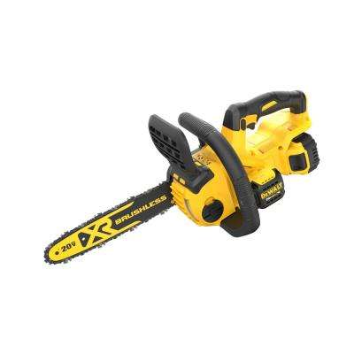 12 in. 20-Volt MAX XR Lithium-Ion Cordless Brushless Chainsaw with 5.0Ah Battery and Charger Included