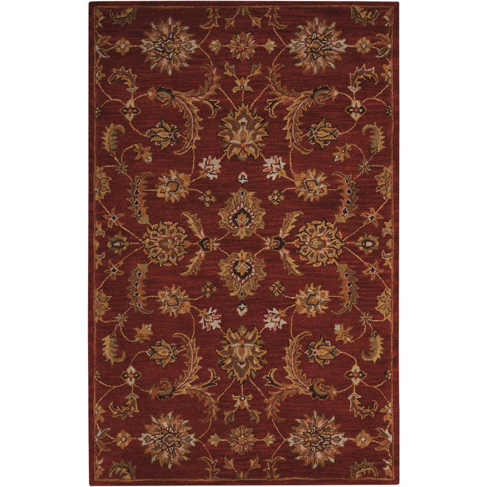 India House Brick 5 ft. x 8 ft. Area Rug