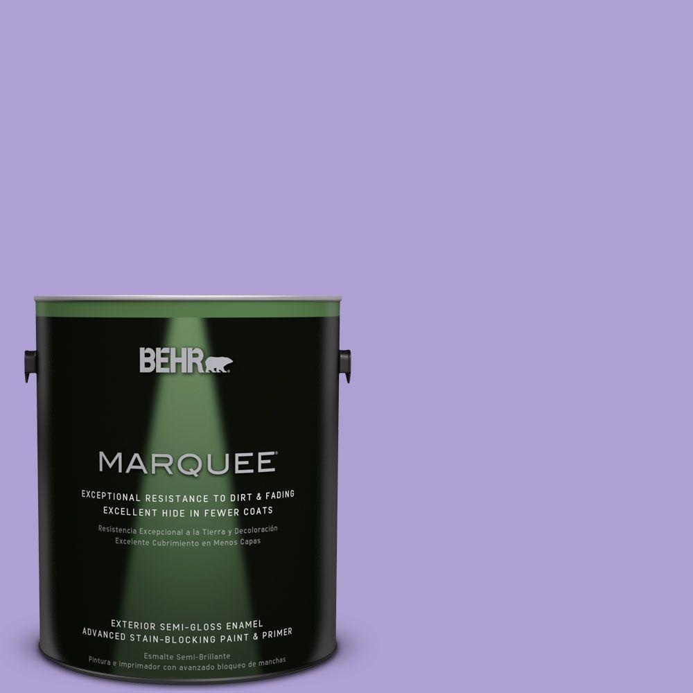 BEHR MARQUEE 1-gal. #P560-4 Magic Wand Semi-Gloss Enamel Exterior Paint