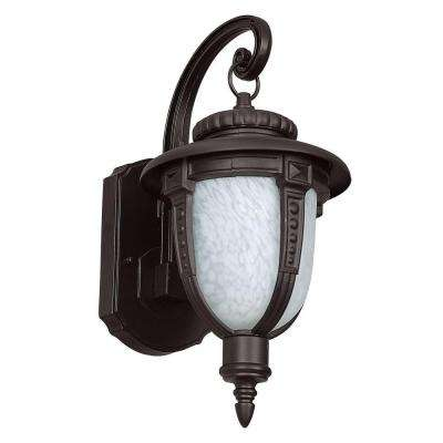 Lierle 1-Light Oil-Rubbed Bronze Outdoor Wall Lantern