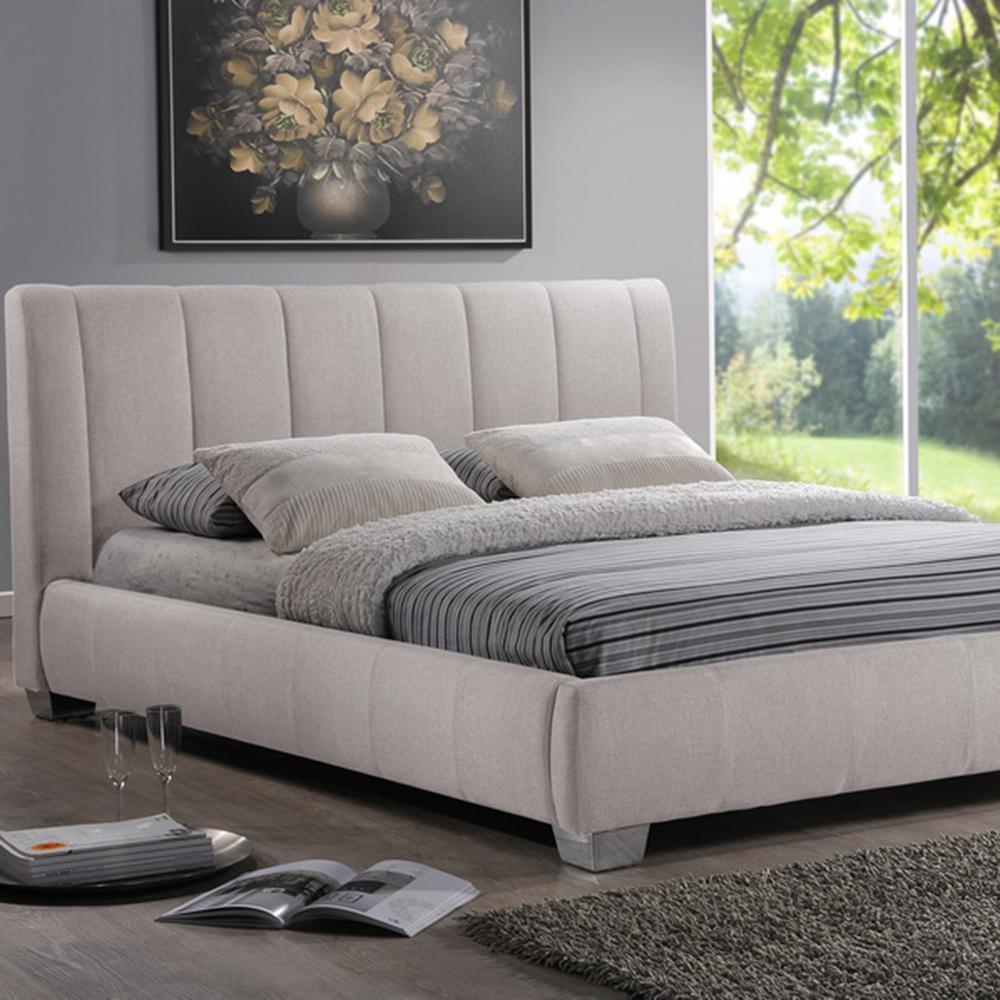 Marzenia Beige Queen Upholstered Bed