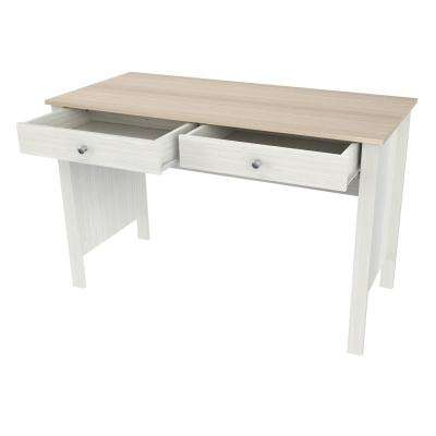 Laricina-White and Beech Computer Desk