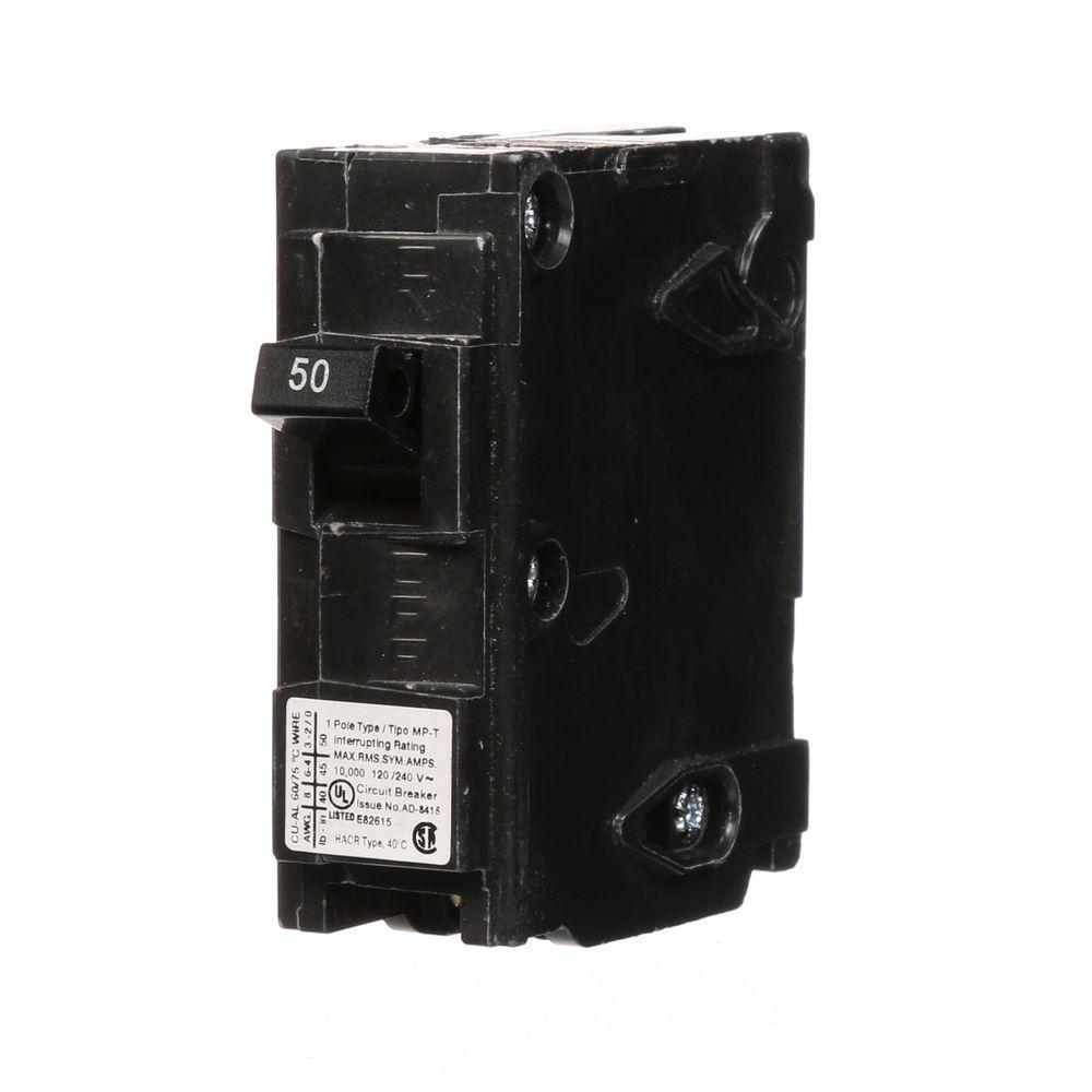 Murray 50 Amp Single-Pole Type MP Circuit Breaker