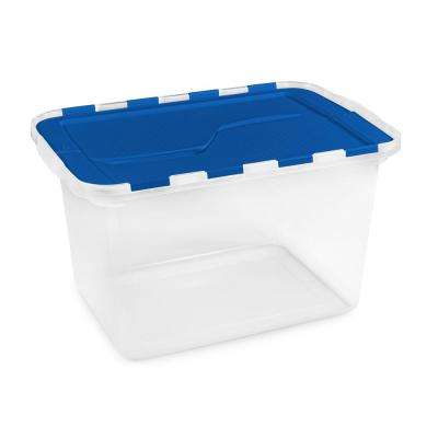 12-Gal. Flip Lid Storage Tote (Set of 6)