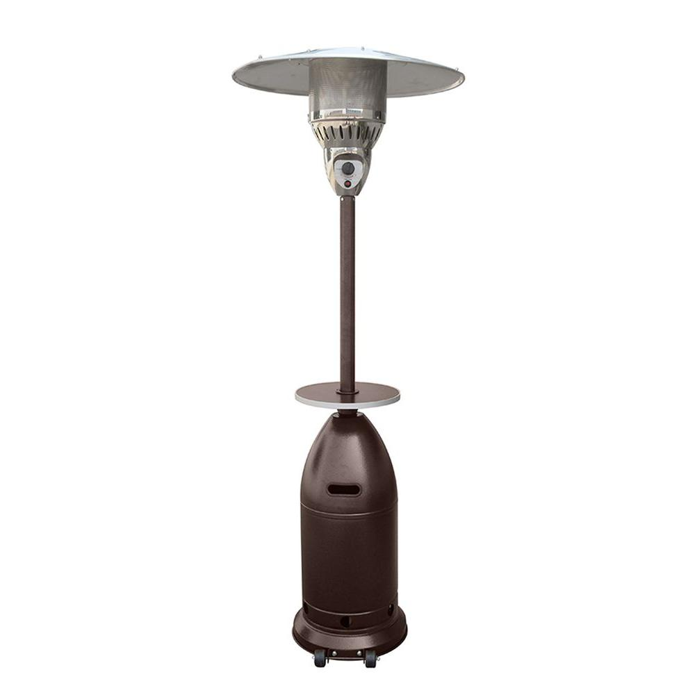 AZ Patio Heaters 41,000 BTU Tapered Hammered Bronze Gas Patio Heater