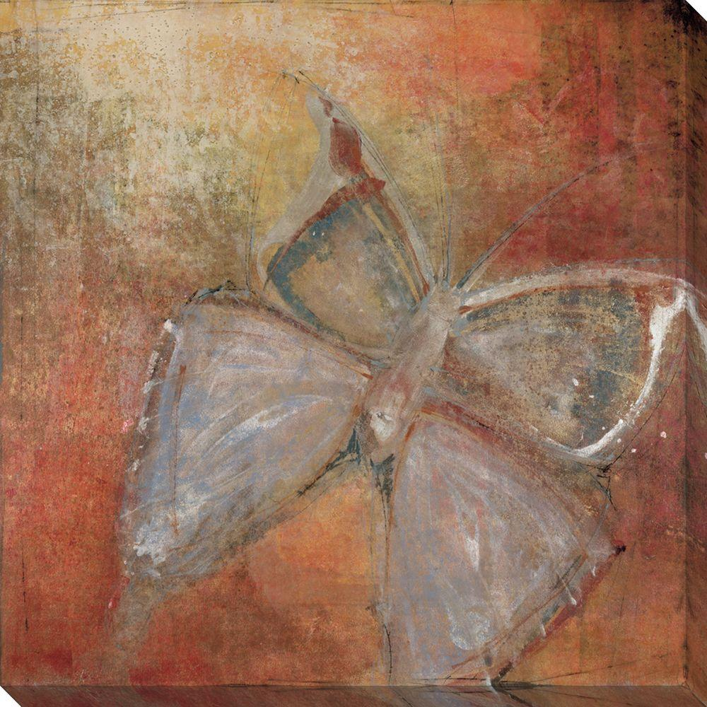 NEP Art 40 in. x 40 in. Butterfly Oversized Canvas Gallery Wrap