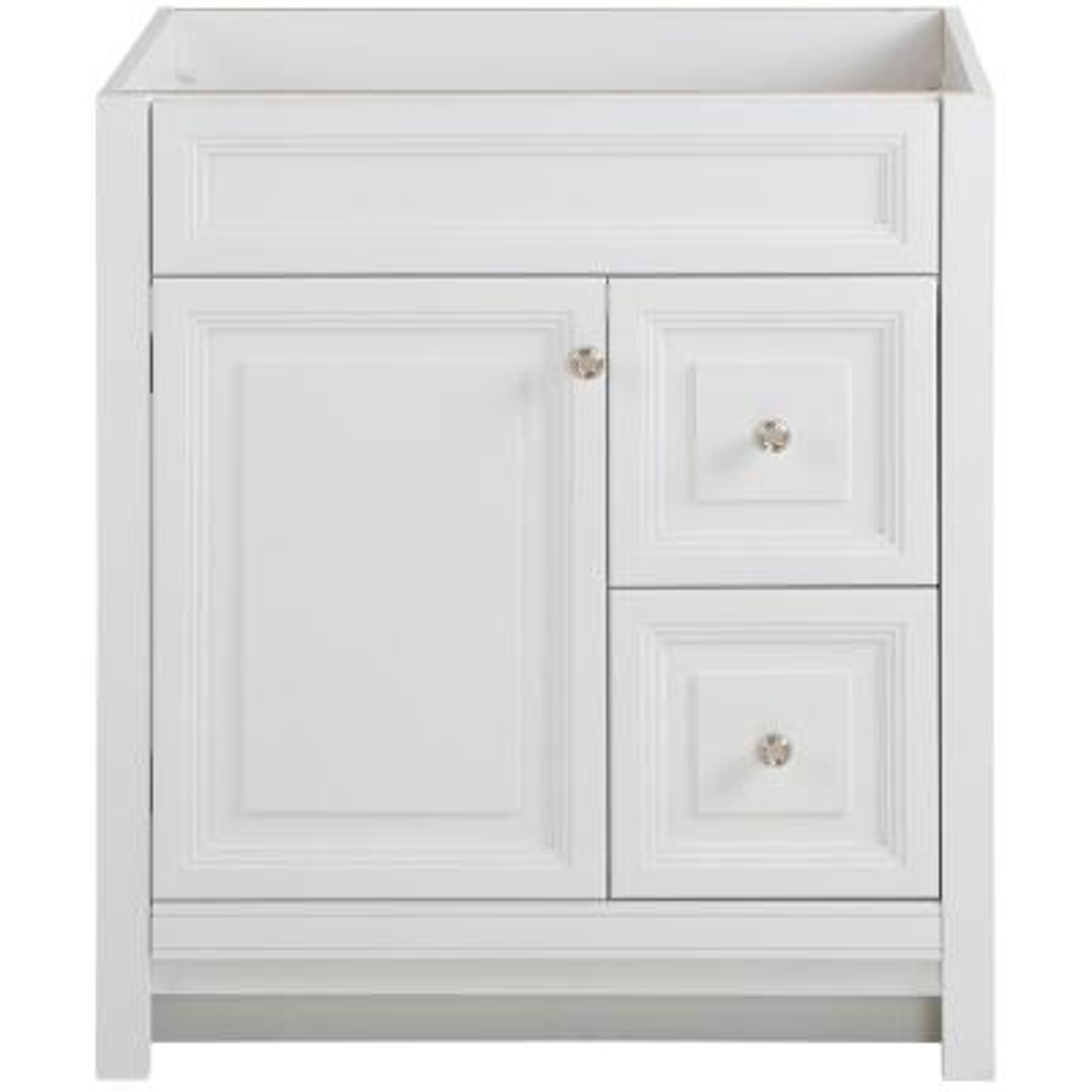 Brinkhill 30 in. W x 21.65 in. D x 34 in. H Bath Vanity Cabinet Only in White