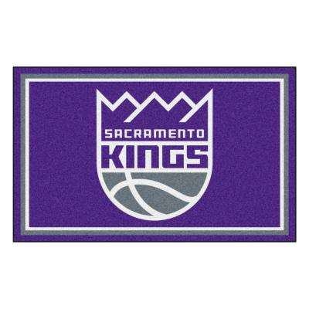 NBA - Sacramento Kings Purple 4 ft. x 6 ft. Area Rug