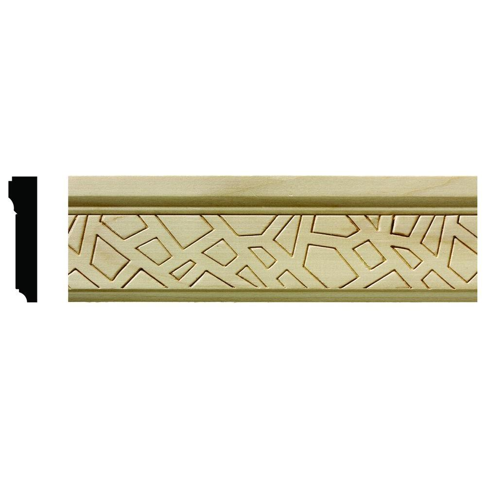 Ornamental Mouldings 1625 1/2 In. X 2-1/4 In. X 6 In