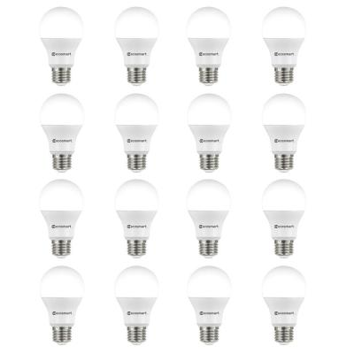 60-Watt Equivalent A19 Non-Dimmable LED Light Bulb Daylight (16-Pack)