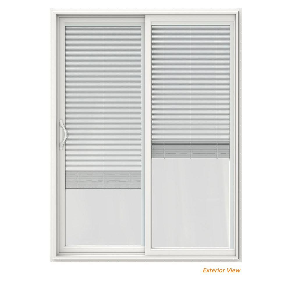 Blinds Between The Glass Single Door Patio Doors Exterior