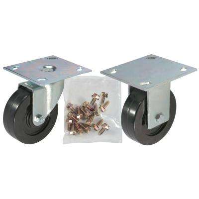 4 in. Rubber Caster Kit