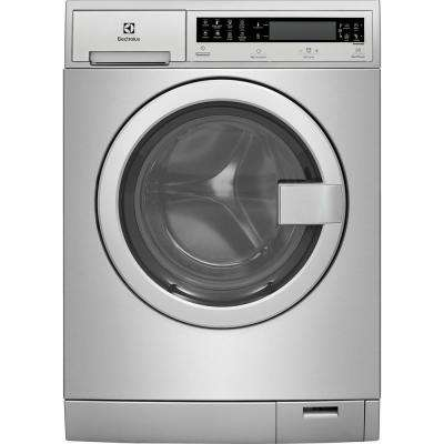 IQ Touch 24 in. W 2.4 cu. ft. High Efficiency Front Load Washer with Steam in Stainless Steel, ENERGY STAR