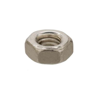 6 mm-1.0 Stainless-Steel Metric Hex Nut (2-Pieces)