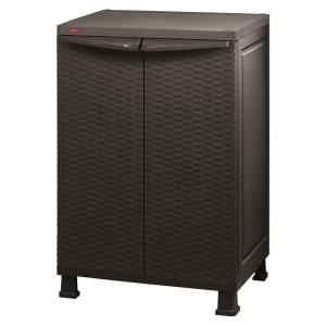 Exceptional Freestanding Plastic Rattan Base Cabinet 215659   The Home Depot