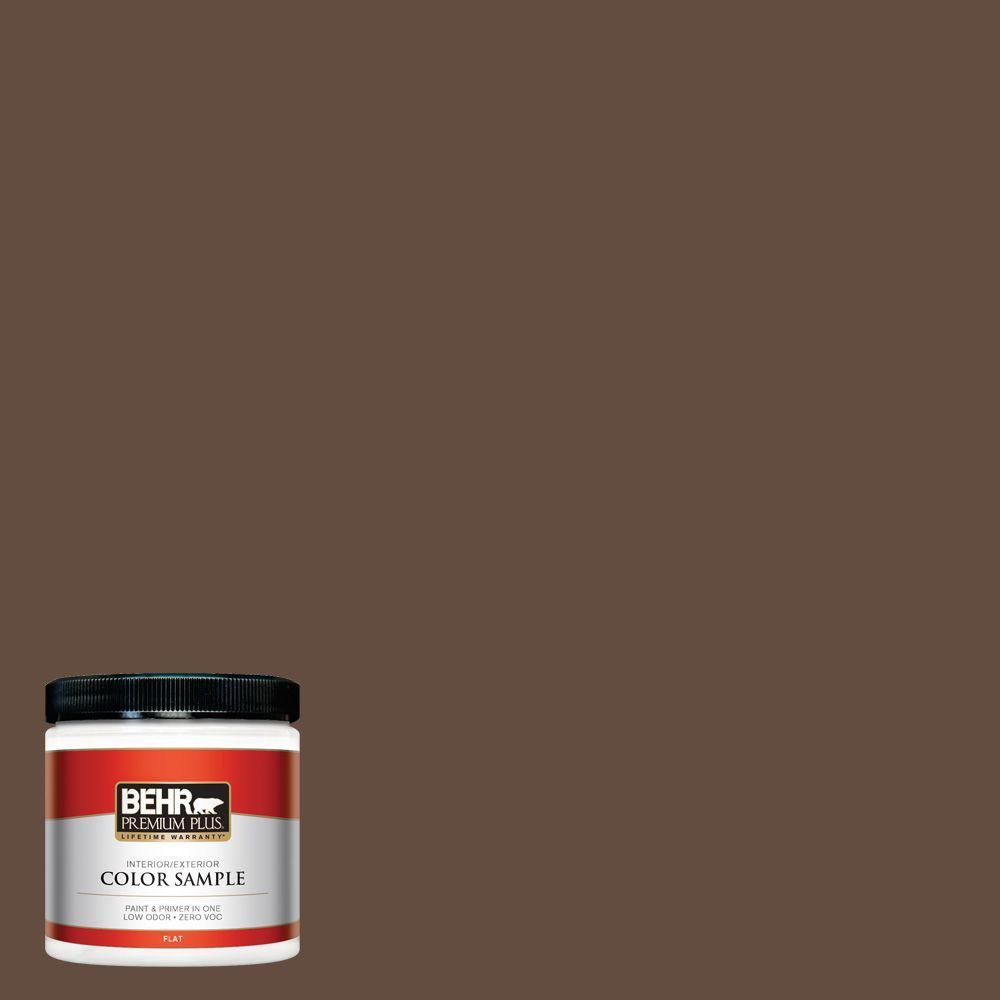8 oz. #760B-7 Revival Mahogany Interior/Exterior Paint Sample