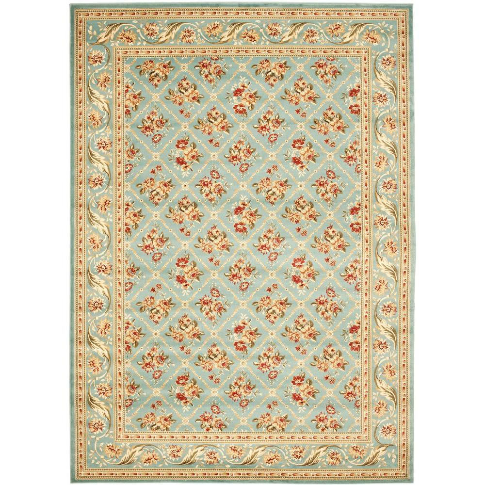 Safavieh Lyndhurst Blue 6 ft. 7 in. x 9 ft. 6 in. Area Rug