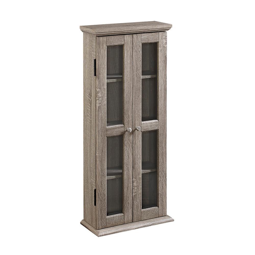 Superbe Walker Edison Furniture Company Driftwood Storage Cabinet