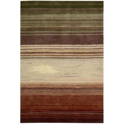 Tequila Sunrise Forest 7 ft. x 9 ft. Area Rug