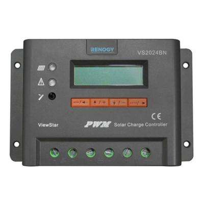 ViewStar 20 Amp PWM Solar Charge Controller with LCD Display