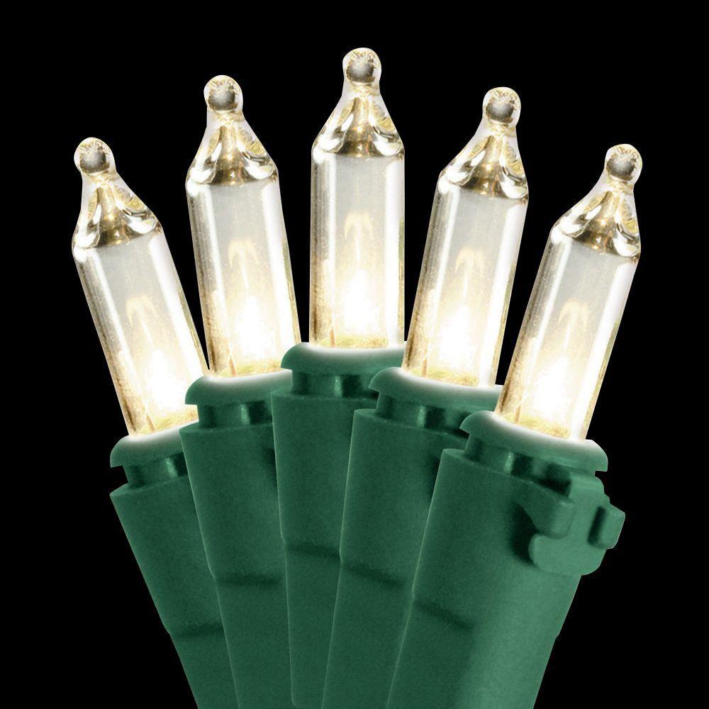 50-Light Clear Bulb String Light Set