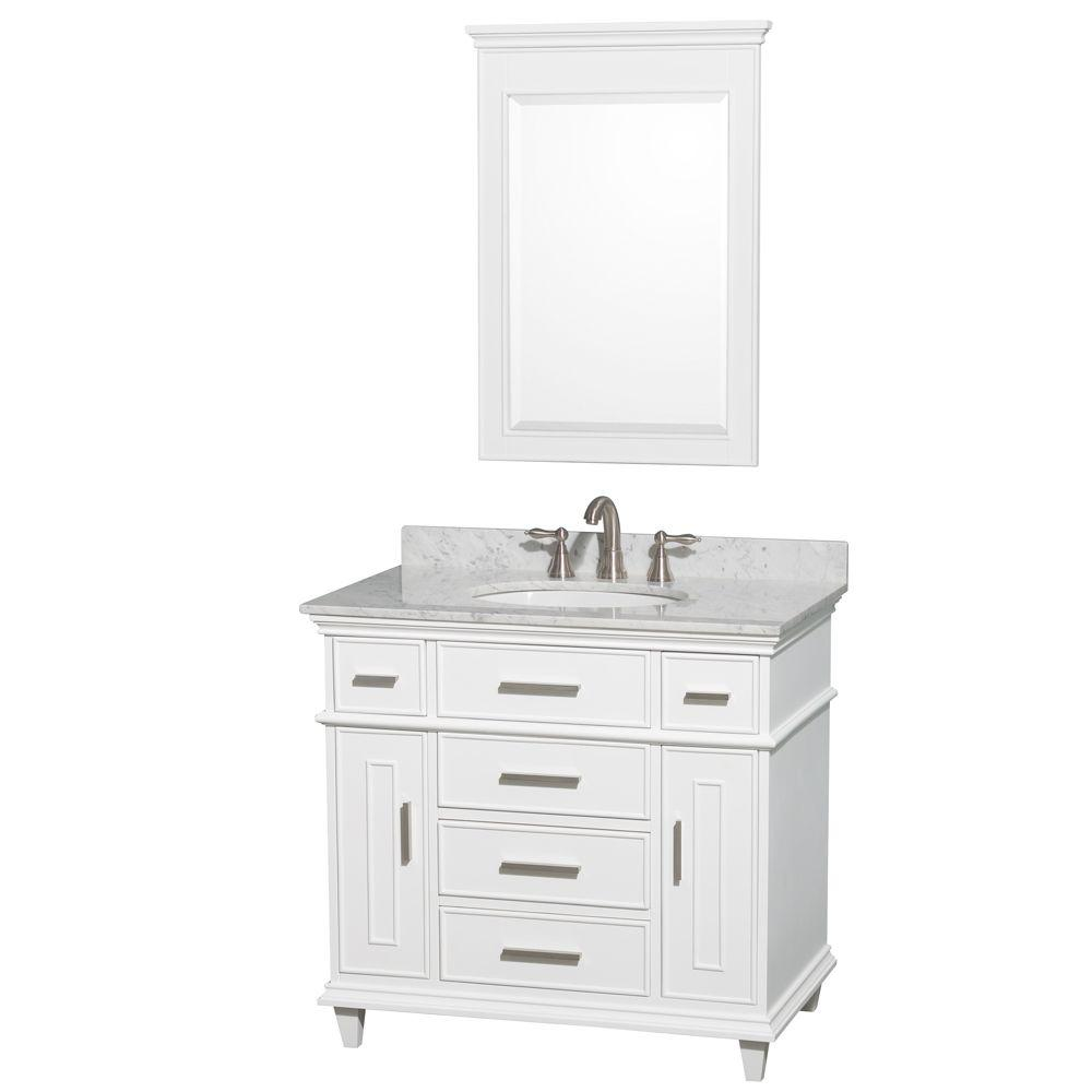 36 Inch Bathroom Vanity With Top And Sink