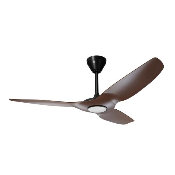 Haiku L 52 in. Integrated LED Indoor Cocoa/Black Smart Ceiling Fan with Remote Control, Works with Alexa