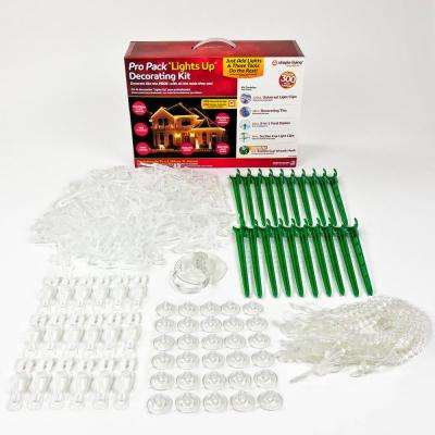 Pro Pack Lights Up Decorating Kit (300 Pack)