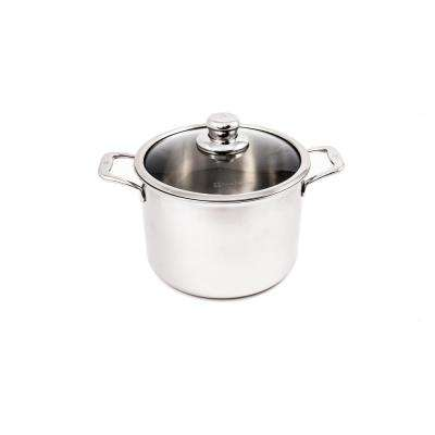 Premium Clad 7.9 Qt. Stock Pot with Lid