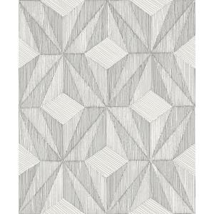 A Street Prints Paragon Silver Geometric Paper Strippable Wallpaper Covers 57 8 Sq Ft 2908 87102 The Home Depot