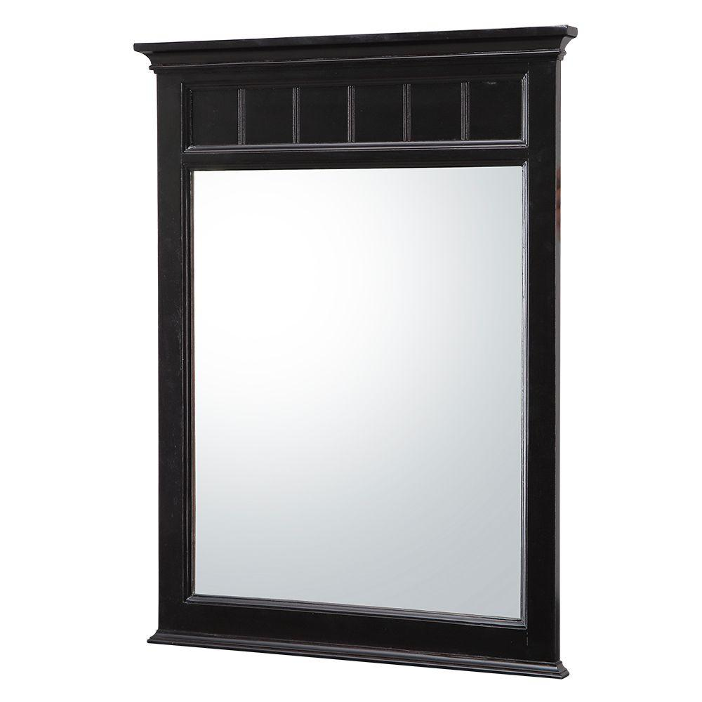 Dunsby 24 in. W x 32 in. H Single Wall Hung