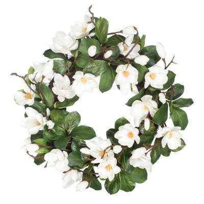 Magnolia 24 in. Wreath