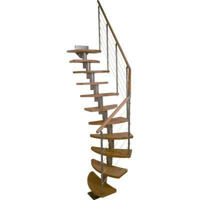 Rome 25 in. Modular 14-Tread Stair Kit