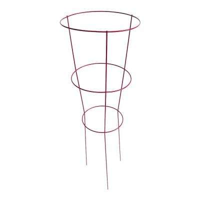 14 in. x 42 in. Fuchsia Tomato Plant Support (5 Pack)
