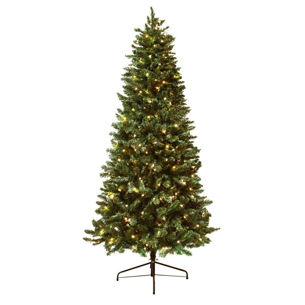 Douglas Fir Artificial Christmas Trees: Astella 7 Ft. Pre-Lit Douglas Fir Christmas Tree With 300