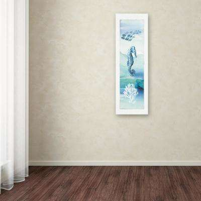 "24 in. x 8 in. ""Sea Life VII"" by Lisa Audit Printed Canvas Wall Art"
